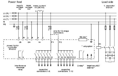Wiring diagram panel capacitor bank trusted wiring diagram epcos power factor controllerbr 6000 ver 2 0 eling elingen dewe run capacitor wiring diagram wiring diagram panel capacitor bank asfbconference2016 Choice Image