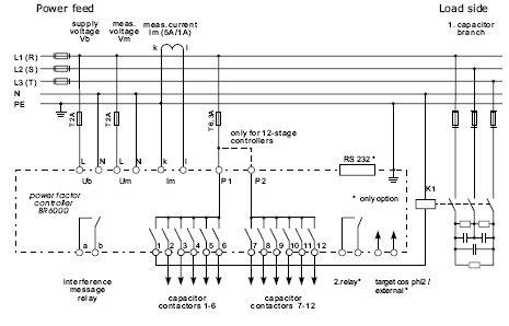 Epcos power factor controllerbr 6000 ver 20 eling elingen dewe untuk wiring harus disesuaikan dengan wiring diagram yang ada di manual dan belakang unit controller asfbconference2016 Choice Image